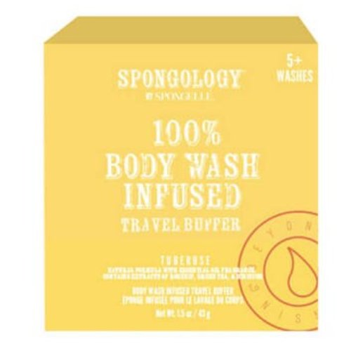 Body Wash Infused Travel Buffer